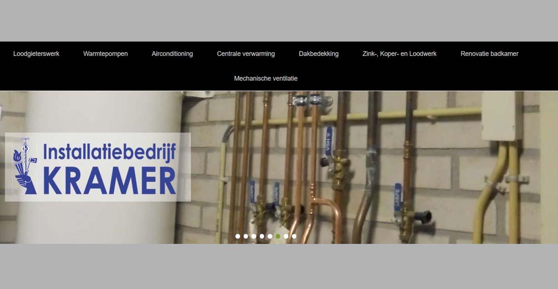 Installatiebedrijf Kramer klant A1 Software